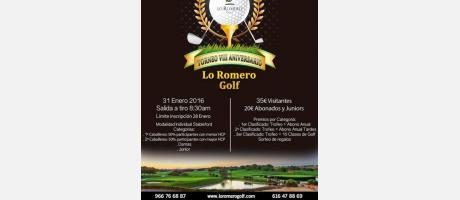 Torneo VIII Aniversario Lo Romero Golf en Pilar de la Horadada
