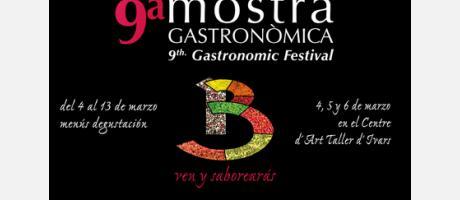 9ª Mostra Gastronòmica Benissa. Taller Ivars