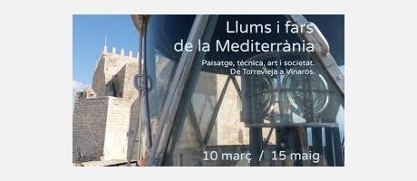 Cartel de la exposición Luces y Faros.
