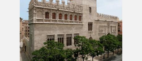 Lonja de la Seda en Valencia - Fachada