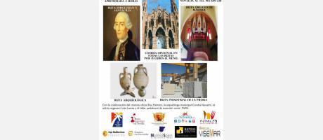 Modernista / Jorge Juan / Órgano de Piedra / Arqueeológica / Industrial