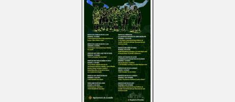 Cartel Ciclo música y danza a las ermitas de Castellón