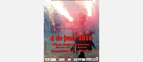Cartell Bèsties del Foc 2016