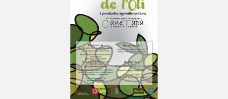 Cartel Feria Del Aceite Canet lo Roig