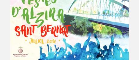 Festes Sant Bernat Alzira 2016
