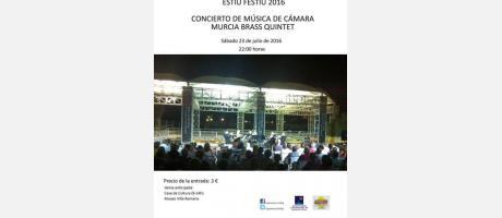 Concierto Música Cámara VRA