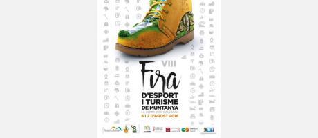 Cartel Feria deporte y turismo de montaña