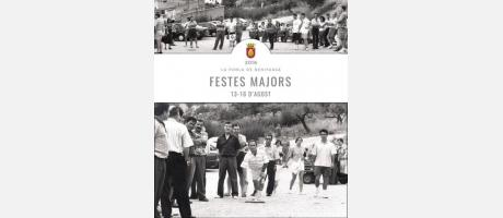 Cartel Fiestas Pobla benifassa