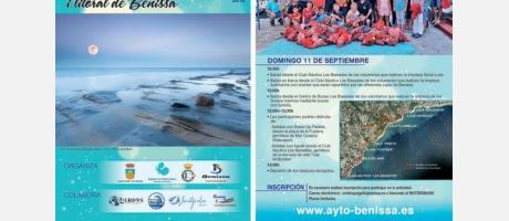 XV Limpieza submarina litoral de Benissa