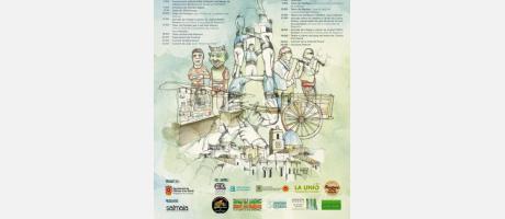 Cartel del Festival Els colors de la terra