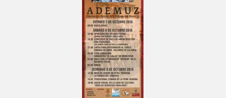 Fiestas octubre Ademuz