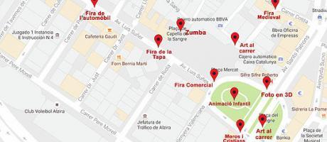 Plano actividades VIII Feria Comercial