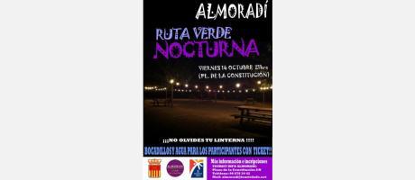 Ruta Verde Nocturna en Almoradí (Octubre 2016, cambio de fecha)