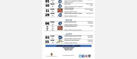 Agenda esportiva abril-juny2017 EPNDB