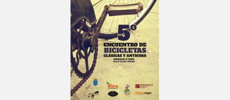 cartel 5º encuentro de bicicletas clásicas