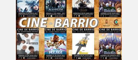Cartel de Cine de Barrio Verano 2017