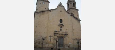 Impresionante iglesia para un municipio pequeño.