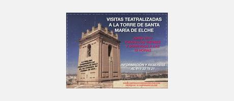 Visita teatralizada Torre Santa María