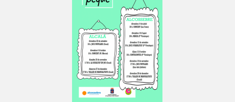 Actividades Infantiles Cultupeque (Julio-Diciembre 2017)