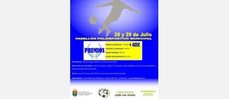 """24 Horas de Fútbol Sala """"VIII Torneo de Verano Fiestas de la Segregación de Pila"""