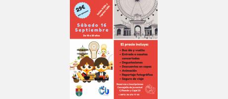 Visita a la Feria de Albacete para jóvenes de 18 a 35 años de edad