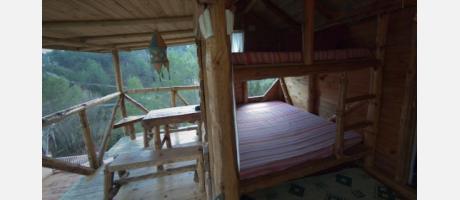 Albergue El Refugio en Montanejos Cabaña
