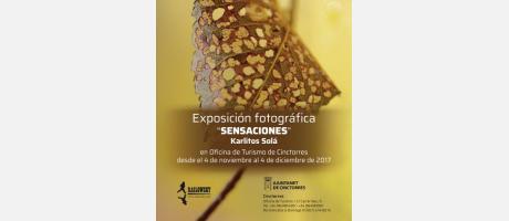 """Exposición de fotografia """"Sensaciones"""". Cinctorres."""
