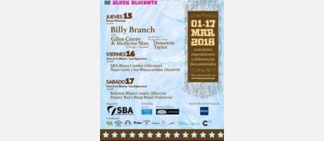I Festival Internacional de Blues Alicante 2018
