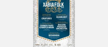cartel Xàbia Folk 2018