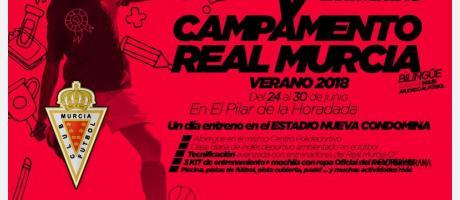 """Campamento """"Bilingüe"""" Verano Real Murcia CF"""