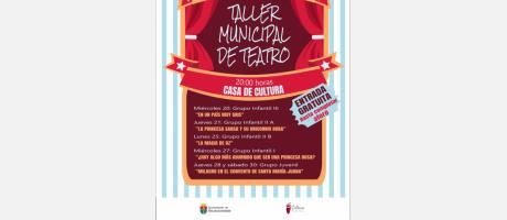 """Muestra del Taller Municipal de Teatro: """"En un país muy gris"""""""