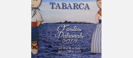 Programa Festividad de San Pedro y San Pablo en Tabarca 2018