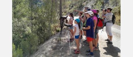 Actio Birding con niños
