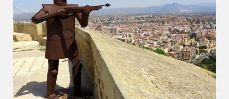Escultura del Castillo