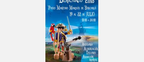 II FERIA PIRATA BENICARLÓ 2018