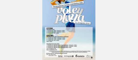 Torneo de voley Playa Peñíscola
