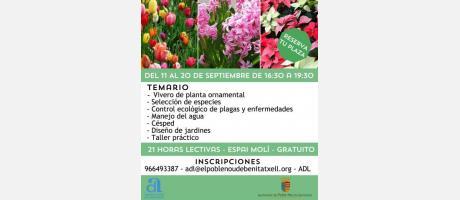 Curso producción ecológica planta ornamental EPNDB