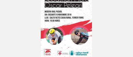 Xarrada - Col.loqui del món de la bici amb dos campions