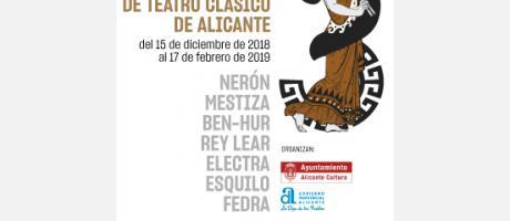 III Festival de Teatro Clásico Alicante 2018