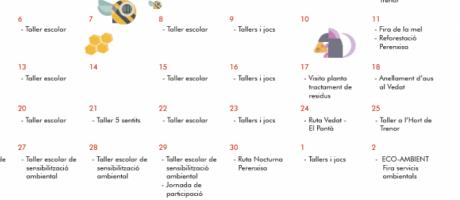 Calendario mes del medi ambient
