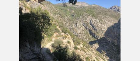 Ruta Barranco del Infierno en la Vall de Laguar