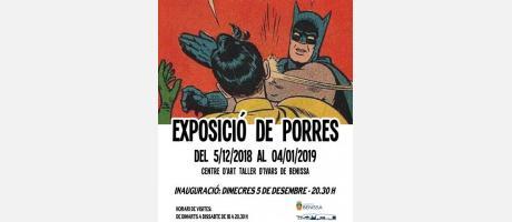 """Exposición de pintura """"Batman sóc jo"""""""