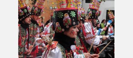 Desfile grande de Carnaval