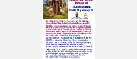 Fiesta de San Antonio Abad Alcalà de Xivert - Alcossebre