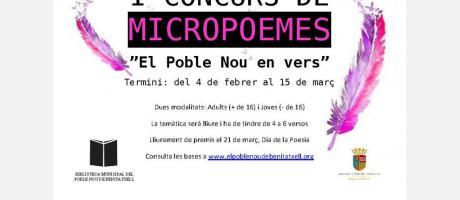 I Concurs de Micropoemes EPNDB