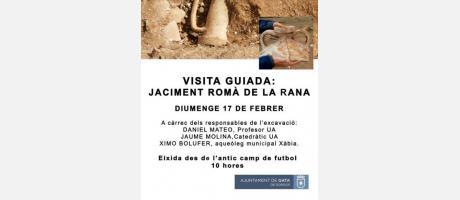 La Universidad de Alicante inicia una segunda excavación en La Rana