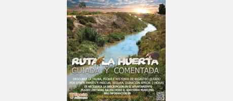 RUTA DE LA HUERTA GUIADA Y COMENTADA