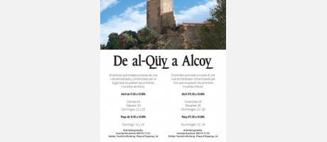 De al-Qüy a Alcoy: ruta tematizada por el conjunto amurallado de Alcoy