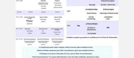 I Jornadas Abiertas para el Bienestar y la Salud (Programa)