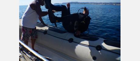 bautismo de buceo costa blanca